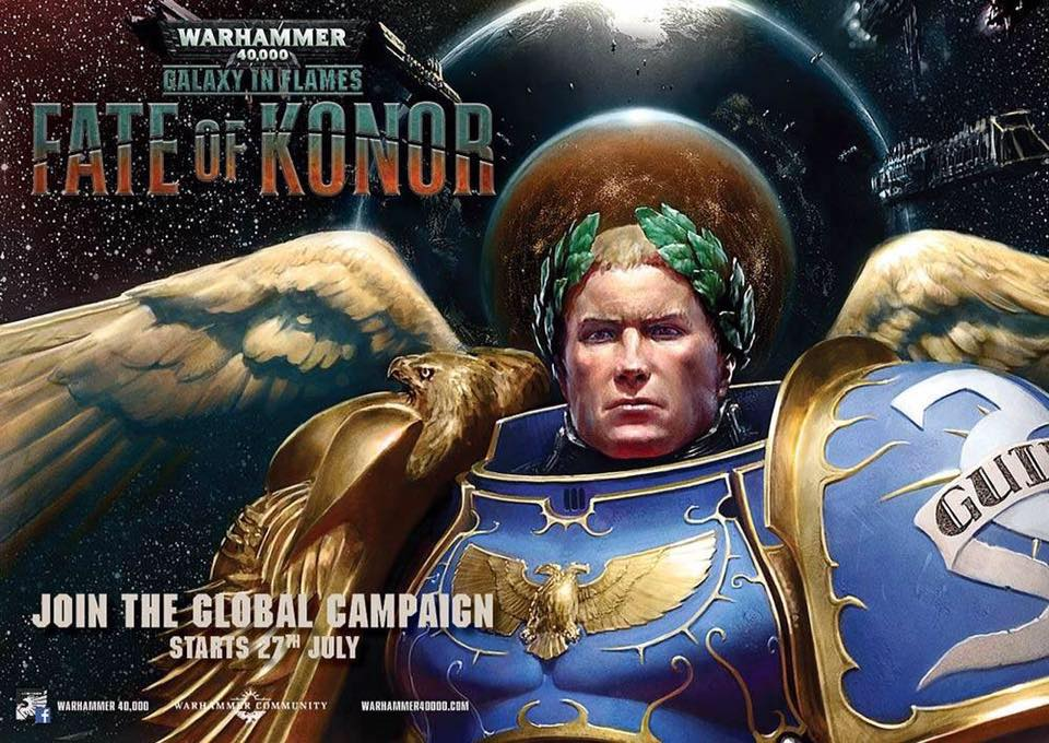 Warhammer 40k Fate of Konor - The Dragon's Refuge - Tabletop Gaming